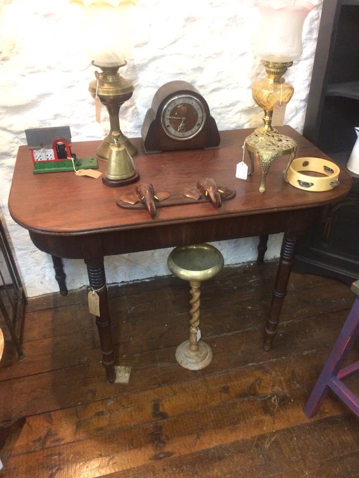 malthouse mahogany hall table